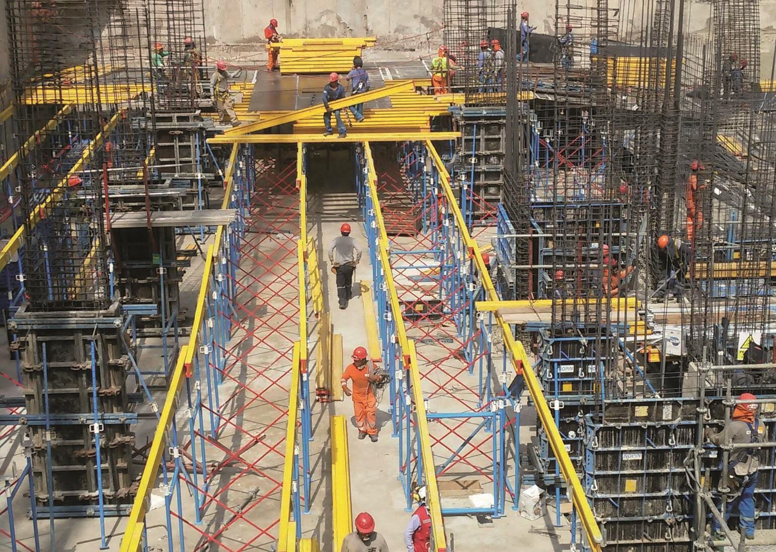 NOPIN Alavesa - Fabricación, venta y distribución de Sistemas de Andamio - SISTEMA ENCOFRADO RÁPIDO NOPIN