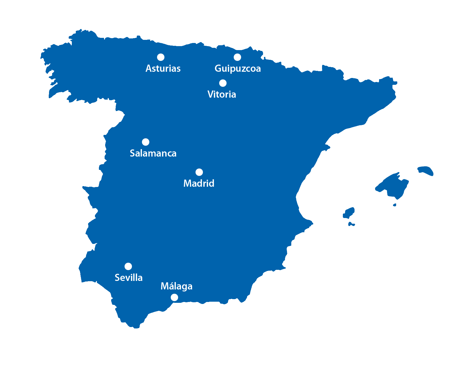 NOPIN Alavesa - Fabricación, venta y distribución de Sistemas de Andamio - Delegaciones en España