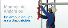 NOPIN Alavesa - Fabricación, venta y distribución de Sistemas de Andamio - Montaje de Andamios