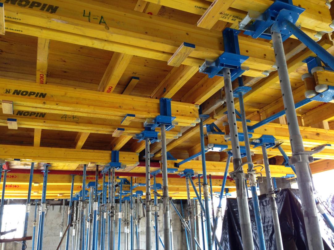 NOPIN Alavesa - Fabricación, venta y distribución de Sistemas de Andamio - Vigas H2O